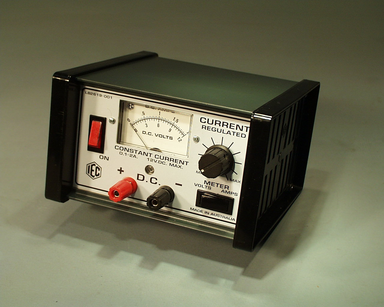 Power Supply Variable Constant Current 0 2a 12v Max Lb2619 001 Supplies