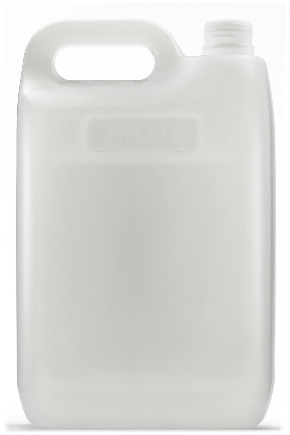 Jerrican (Plastic Bottle), Natural, 5L