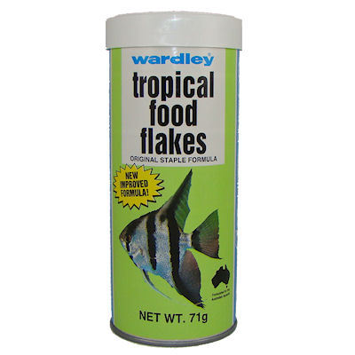 Feed, Fish, Tropical, Flakes, 71g Pack