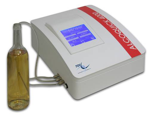 Alcoquick Alcohol Analyser 5 - 18% v/v