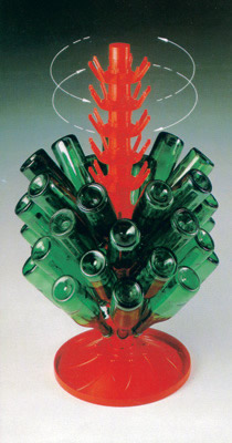 Bottle Drain Tree, Holds 63 Bottles