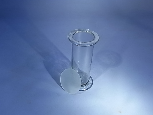 Cover, Gas Jar, Glass, 75mm diam., Pack of 10