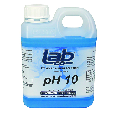 Buffer pH10 Solution Blue (1L)