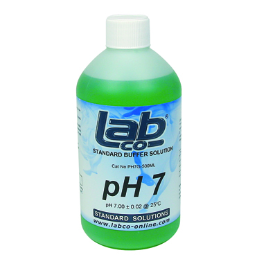 Buffer pH7 Solution Green (500mL)
