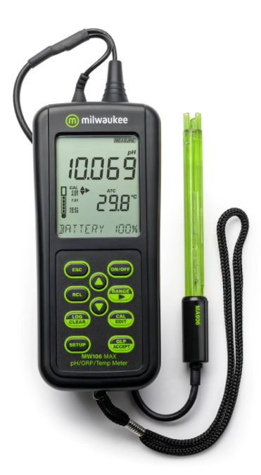 pH Meter, Portable, Waterproof