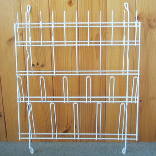 Draining Rack, Wall Mounting, Coated Wire, 57 x 60cm