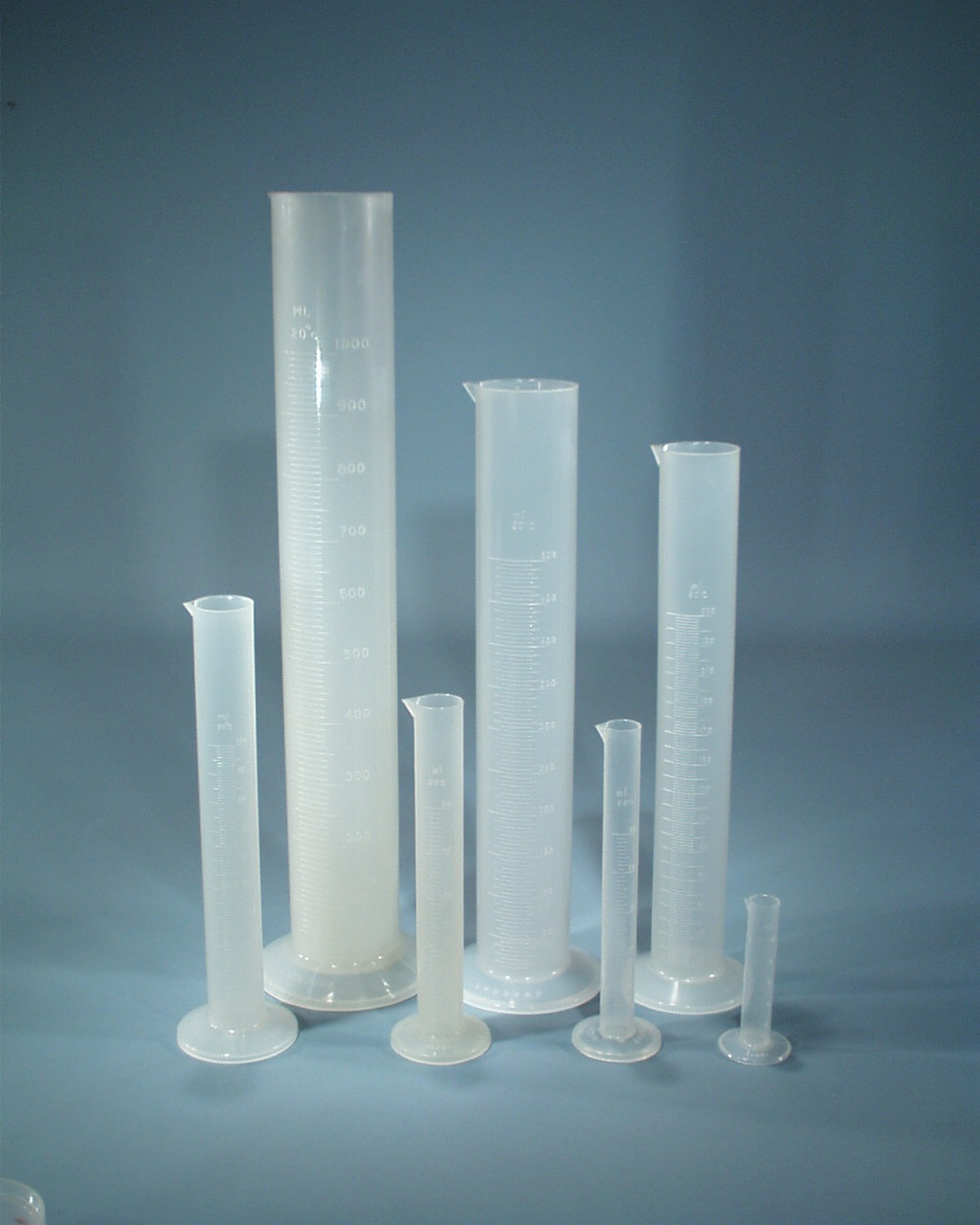 Cylinder, Measuring, Polypropylene, 1,000ml