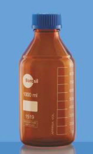 Bottle, Amber, 1000ml