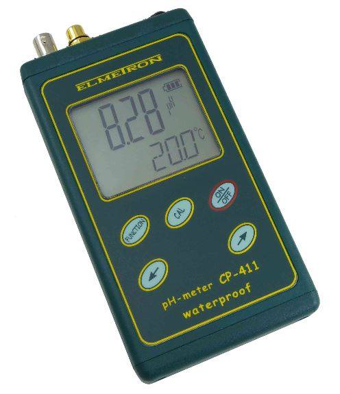 Elmetron pH meter with mV, Temp (W/P)