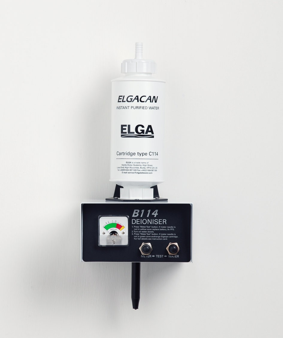ELGA Cartridges for B114 De-Ioniser (Pack of 4)