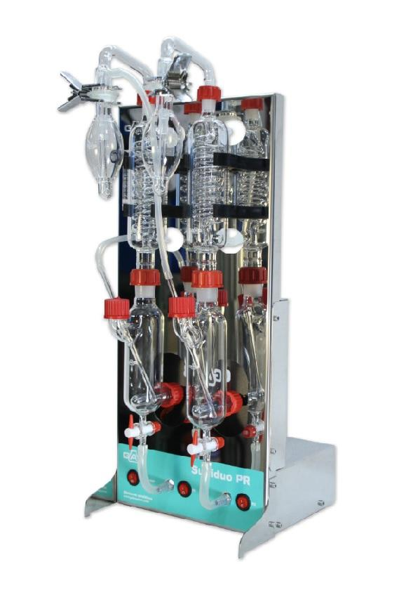 Sulfiduo, 2-Head SO2 Distillation Unit