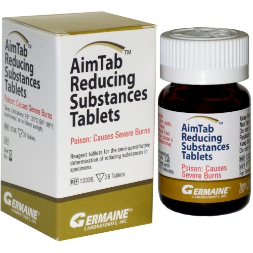AIMTAB Reducing Sugar Tablets, Pack of 36
