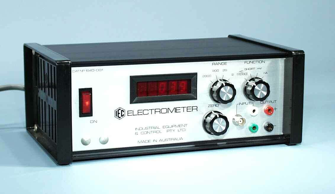 Electrometer, Digital, High Sensitivity