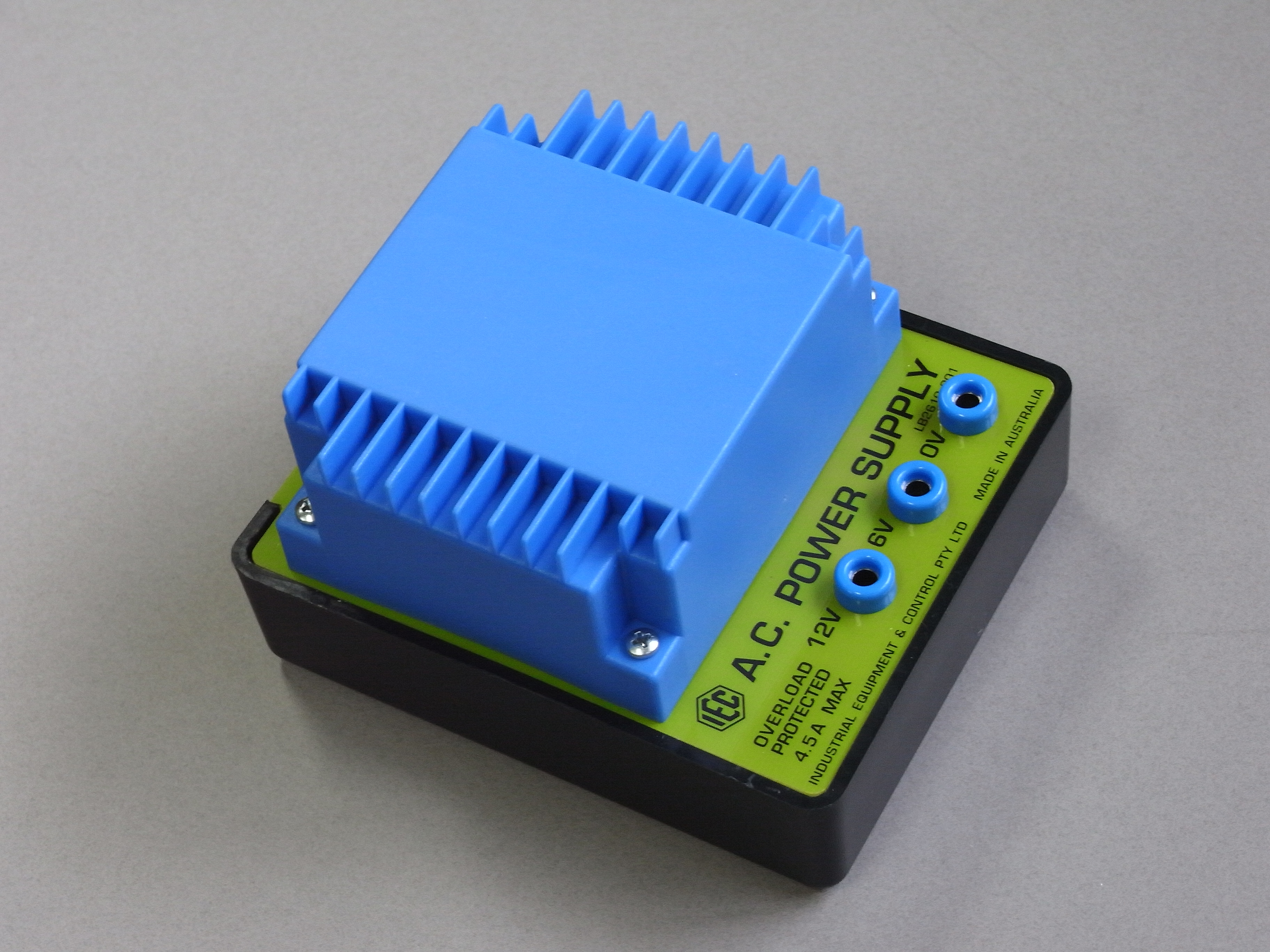 Power Supply Module, 240VAC in, 6VAC/12VAC out (4A max)