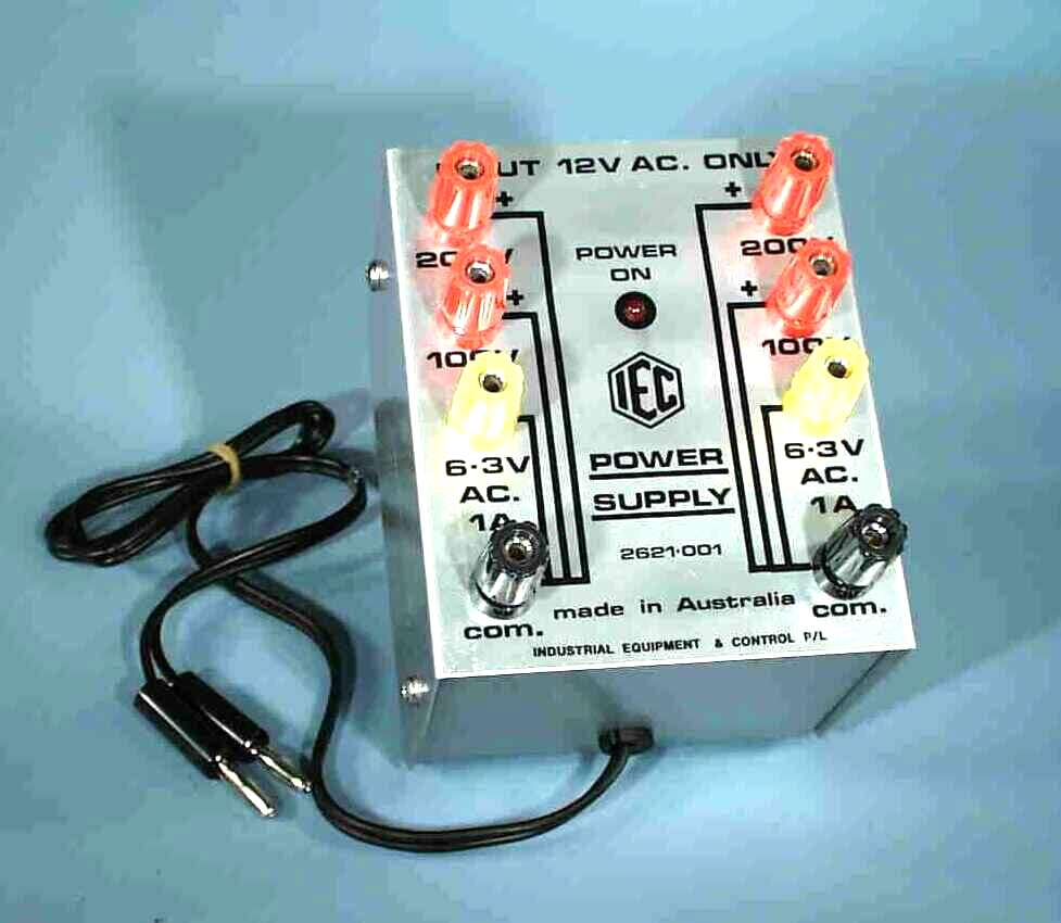Power Supply Module, PSSC, 12VAC in, ( 2x 200VDC, 2x 100VDC, 2x 6.3VAC output)