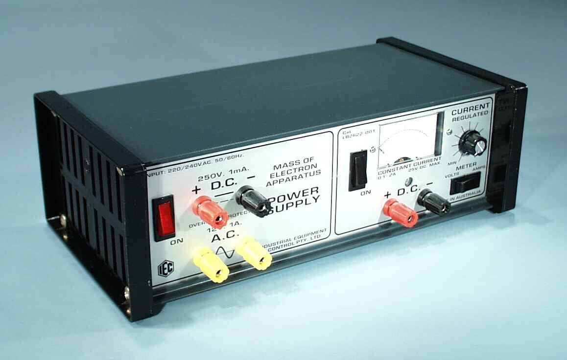 Power Supply, Variable, Special Purpose, 12V & 300V, Constant Current