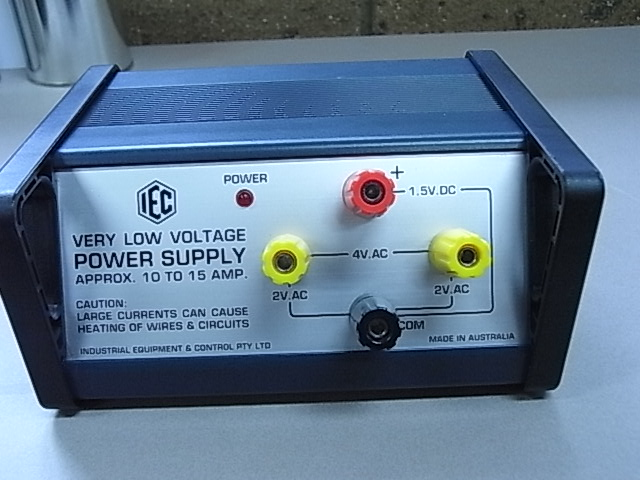 Power Supply, Very Low Volt, 10A max, for Magnetic Circuits