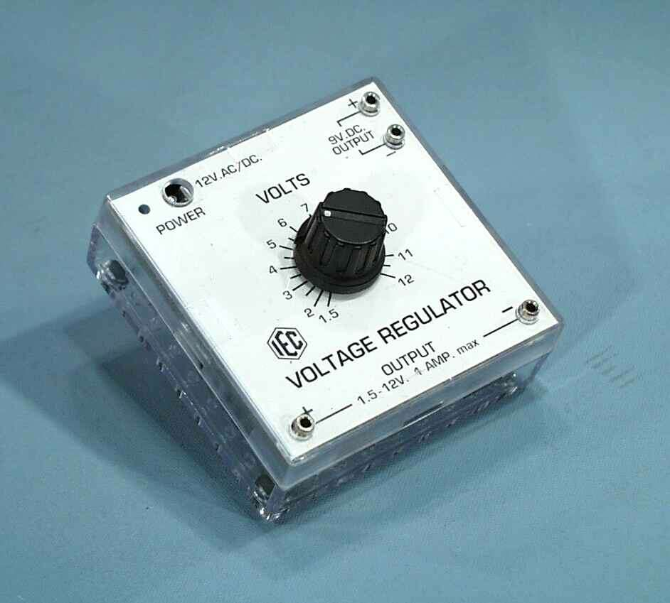 Power Supply Module, 12V AC/DC in, 1.2-20VDC out + 9VDC out