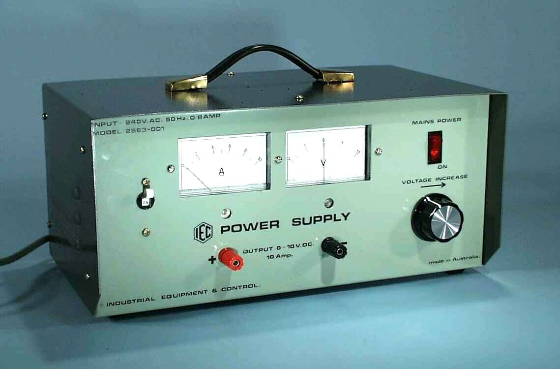 Power Supply, Variable, 0-10VDC, 10A