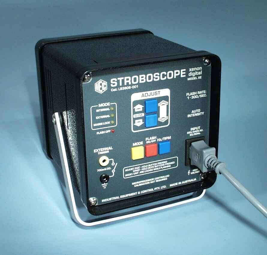 Stroboscope, Xenon, Digital, Model XE, 240VAC