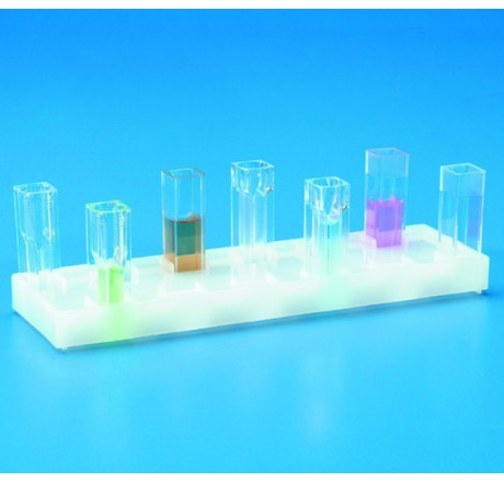 Cuvette Holder, 12 places , Polyethylene