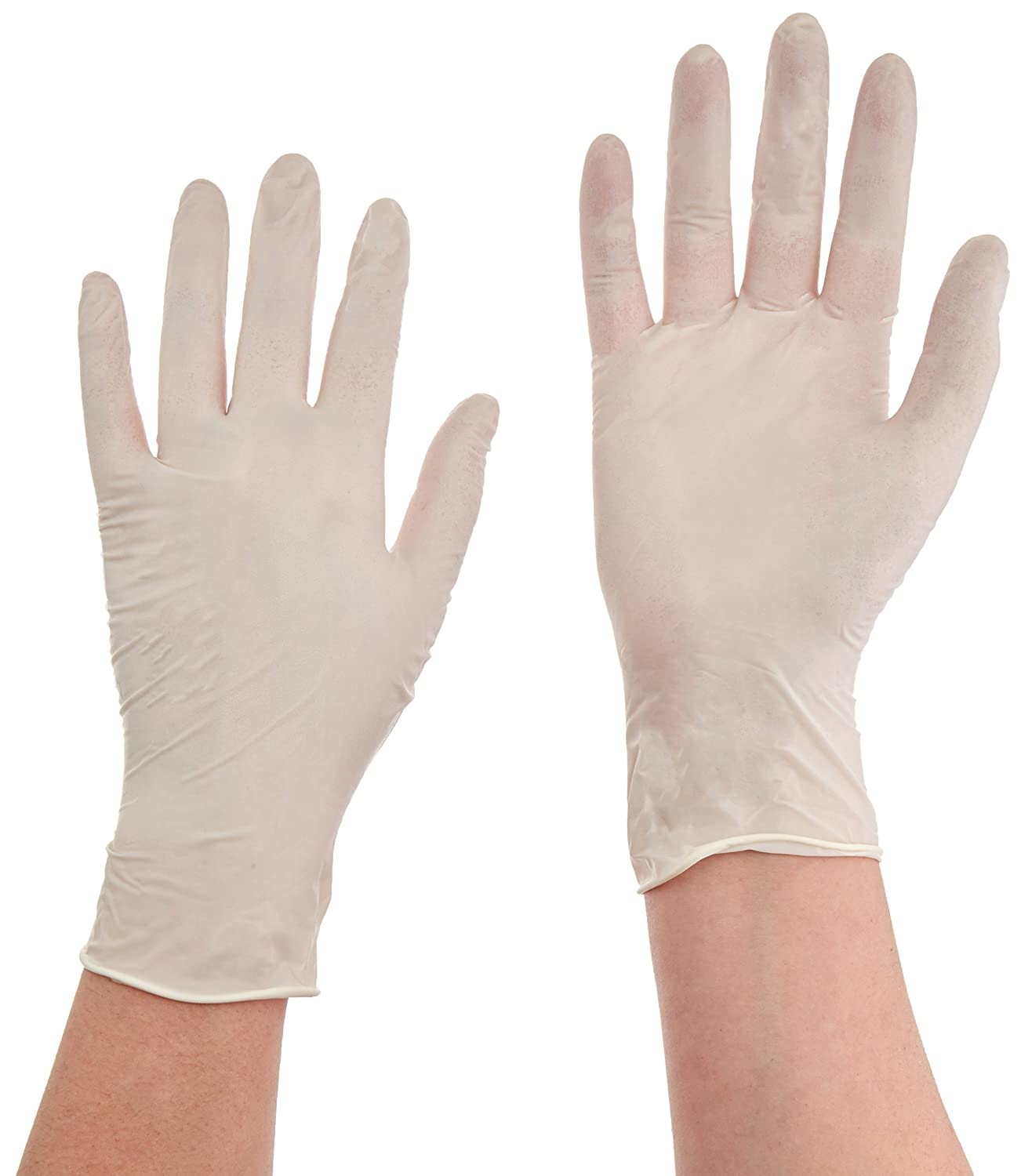Gloves, Latex, Powde Free, Large, Pk100