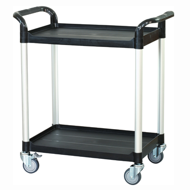 Trolley, Fixed Height, 2 Shelves