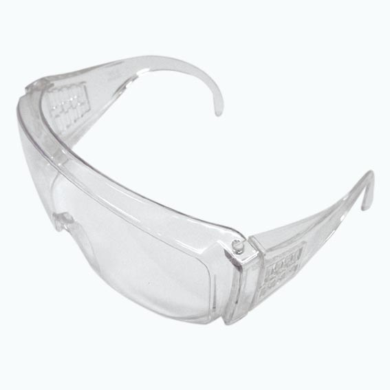 Safety Spectacles, Clear, Large Size