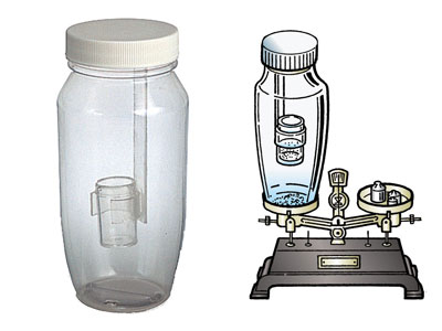 Law of Conservation of Mass Experiment Apparatus (Bottle)