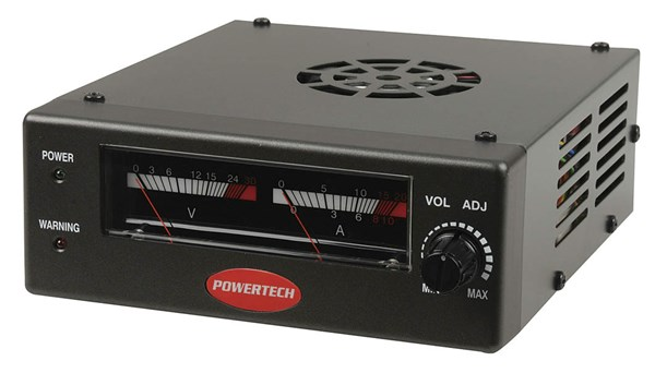 Power Supply, Compact Switchmode, 0-24VDC, (6-17A)
