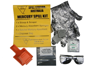 Mercury Absorbent Spill Kit