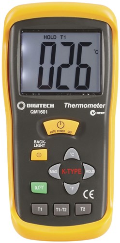 Thermocouple Thermometer, 2 Input