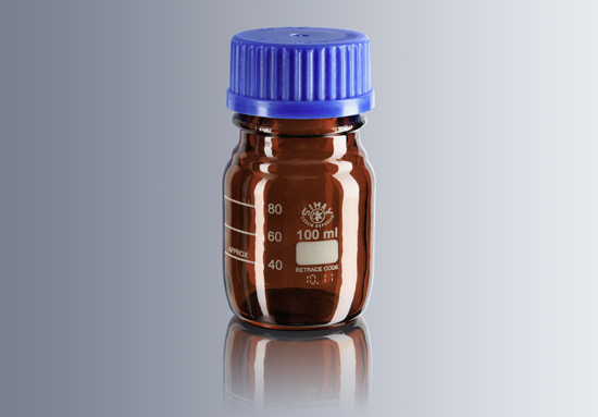 Bottle, Amber, 100ml