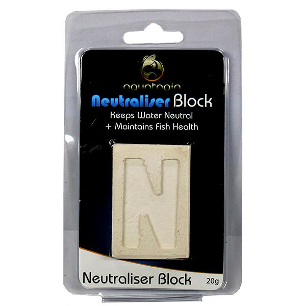 Neutralising Block, for Tropical Fish